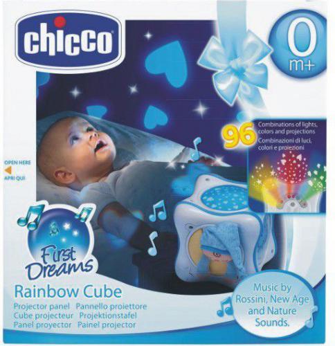 Chicco Tęczowa kostka niebieska - 024302