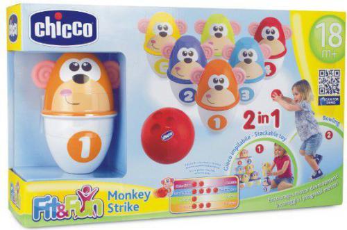 Chicco CHICCO Kolorowe kręgle - 05228