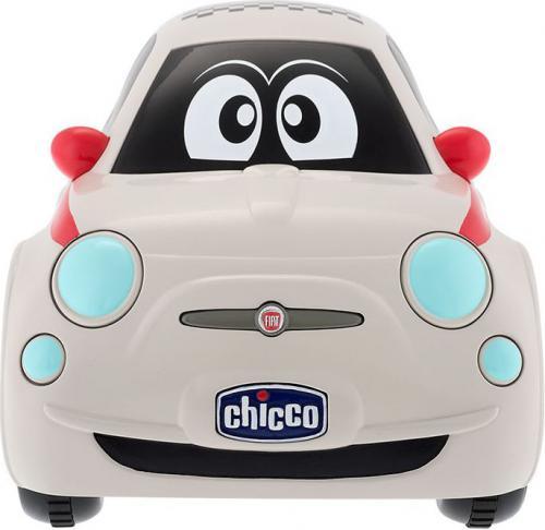 Chicco Fiat 500 z pilotem biały (07275)
