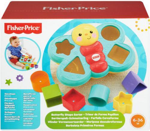 Fisher Price Motylek sorter kształtów - CDC22