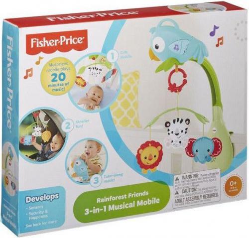 Fisher Price FISHER Karuzelka Przyjaciele z lasu trop - CHR11