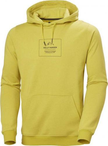Helly Hansen Bluza męska F2F Organic Cotton Hoodie Warm Olive r. L (62934_426-L)