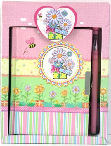 Starpak STARPAK Pamiętnik z długopisem Pastel - 242411