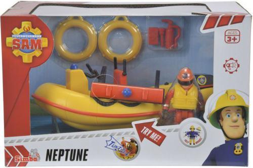 Simba Strażak Sam Motorówka Neptun z figurką (109251660038)