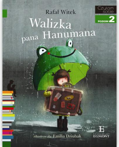 EGMONT Książka Walizka Pana Hanumana - 60467