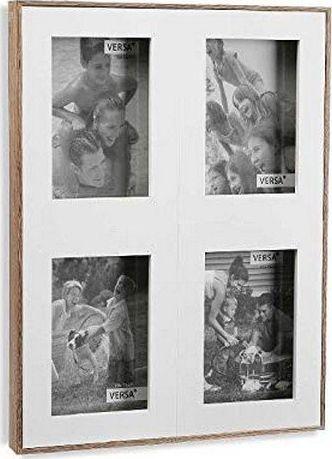 Ramka Bigbuy Home Ramka na Zdjęcia Minimalistyczny Drewno MDF (3 x 39 x 29,2 cm)