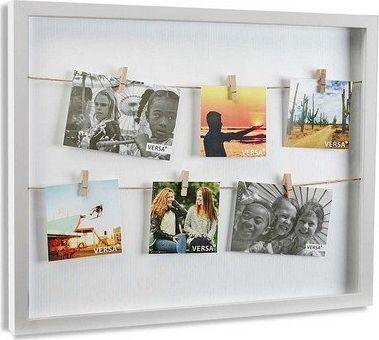 Ramka Bigbuy Home Ramka na Zdjęcia Minimalistyczny Drewno MDF (3,5 x 42,5 x 32,5 cm)
