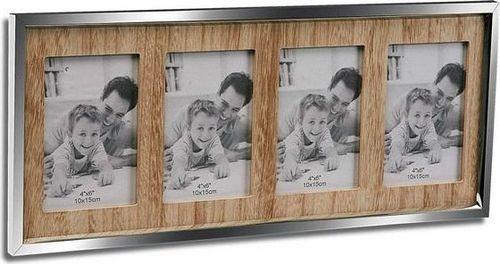 Ramka Bigbuy Home Ramka ścienna na zdjęcia Drewno (1,8 x 21,5 x 49,5 cm)