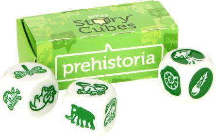 Story Cubes STORY CUBES Gra Story Cubes: Prehistoria - 26198