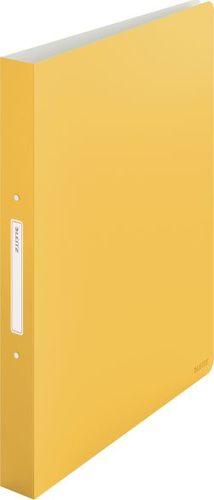 Segregator Leitz 180° 2-ringowy A4 30mm żółty