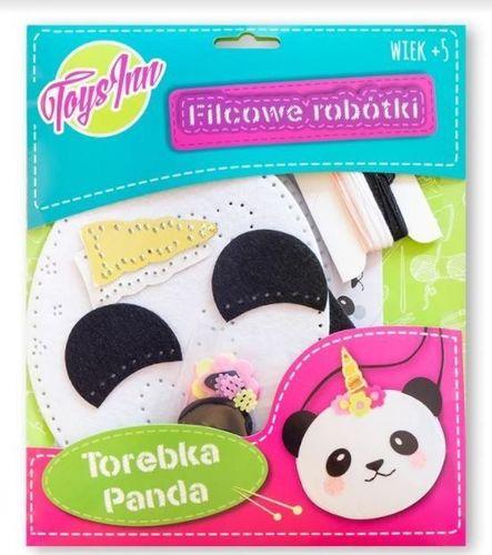 Stnux Filcowa torebka na ramię Panda
