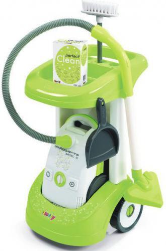 Smoby SMOBY Wózek do sprzątania z odkurzaczem - 7600024406
