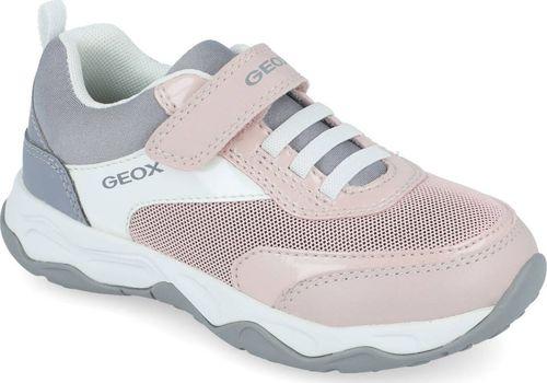 Geox Półbuty sneakers dziewczęce GEOX J04CMA różowy 32