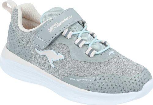 Kangaroos Sneakersy dziewczęce KangaROOS 18715 szary 35