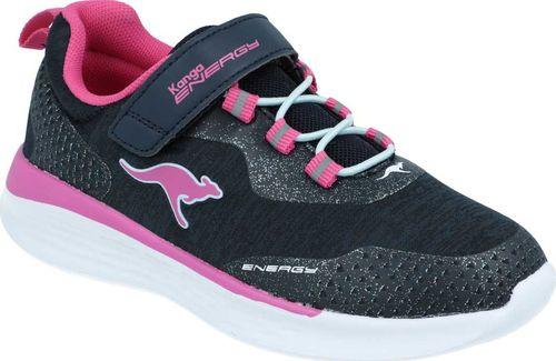 Kangaroos Sneakersy dziewczęce KangaROOS 18715 granatowy 28