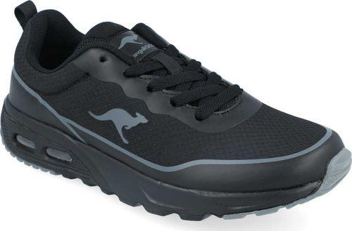 Kangaroos Sneakersy chłopięce KangaROOS 18622 czarny 37