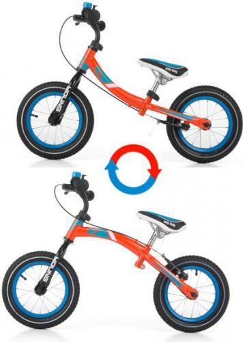Milly Mally Rowerek biegowy YOUNG Pomarańczowy