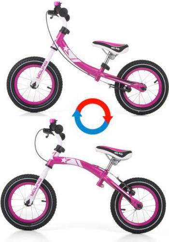 Milly Mally Rowerek biegowy YOUNG Różowy