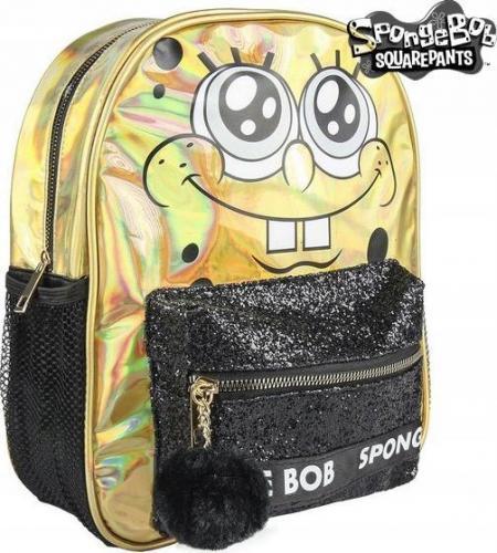 Plecak Casual Spongebob 72721 Złoty Czarny