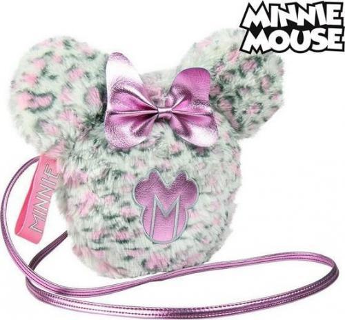 Shoulder Bag Minnie Mouse Różowy Biały