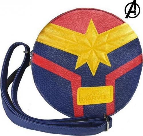 Shoulder Bag Captain Marvel 72840 Niebieski Żółty Czerwony