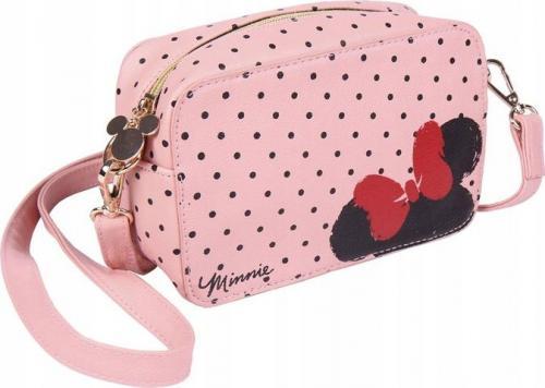 Torba na ramię Minnie Mouse (19 x 12,1 x 6,5 cm) Różowy