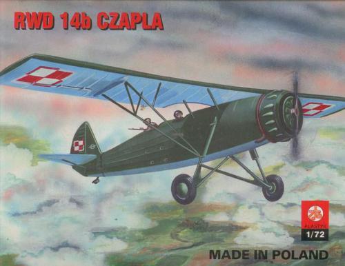 Plastyk PLASTYK RWD 14b Czapla - S-002