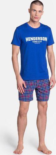 Henderson Piżama męska Henderson Lid niebieska XL