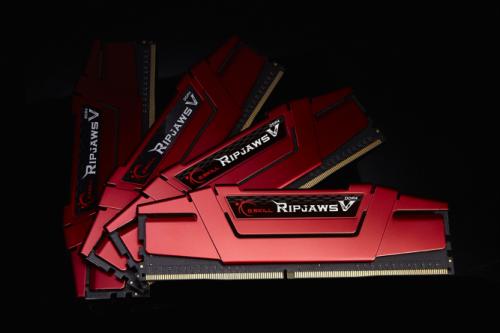 Pamięć G.Skill Ripjaws V DDR4, 4x16GB, 2800MHz, CL15 (F4-2800C15Q-64GVR)