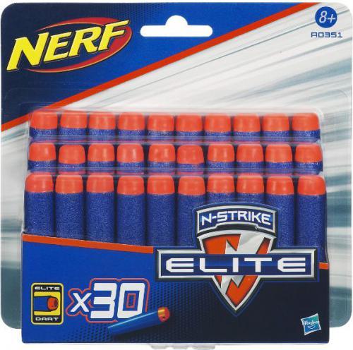 Hasbro NERF Zestaw 30 strzałek Elite Dart (A0351E350)
