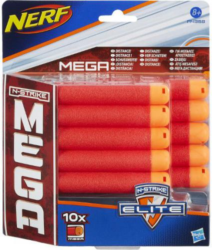 Hasbro Nerf Zestaw Strzałek Mega 10 szt (A4368)