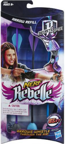 Hasbro HASBRO Nerf Rebelle Zestaw Strzał (A8860)