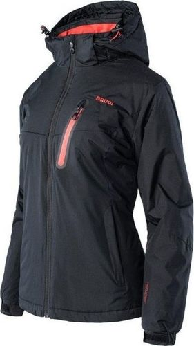 Brugi Damska kurtka narciarska Brugi 2ALA snowboardowa zimowa czarna rozmiar S