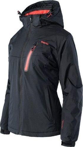 Brugi Damska kurtka narciarska Brugi 2ALA snowboardowa zimowa czarna rozmiar L
