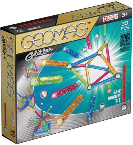 Geomag Color Glitter 30 el. 531