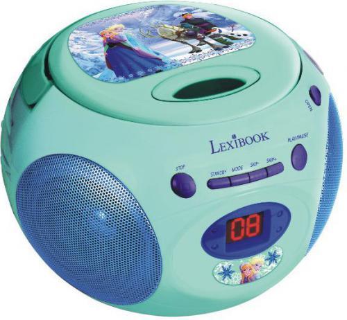 Lexibook Frozen Boombox odtwarzacz CD - RCD102FZ
