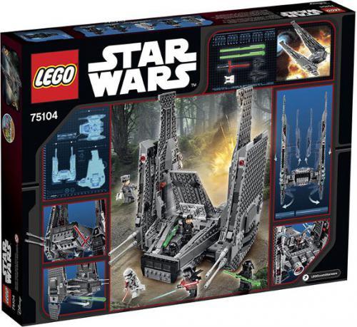 LEGO Star Wars Kylo Rens Command Shuttle (75104)