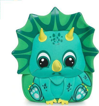 Cocomilo Cocomilo, plecaczek przedszkolny, Triceratops, zielony (PCK 3L-191)