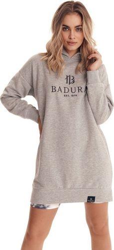 Badura Bluza damska z kapturem, dresowa bluza Badura L