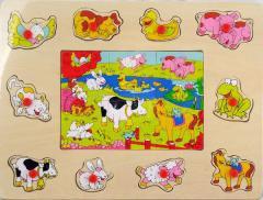 Brimarex Puzzle Zwierz. Gospod. (1563279)
