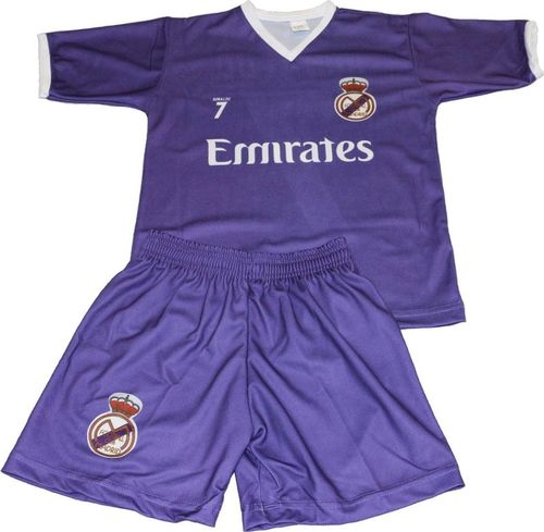Reda Komplet Replika Ronaldo 7 Real Madryt fioletowy 140