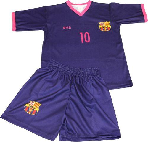 Reda Komplet piłkarski Replika Messi 10 fiolet 152