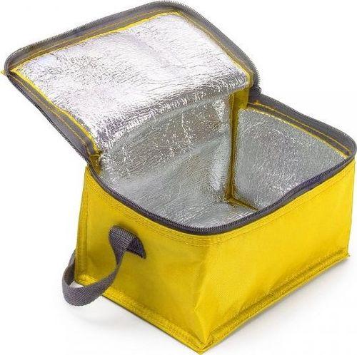 TERMIO Torba termiczna z paskiem IGLO (żółty)