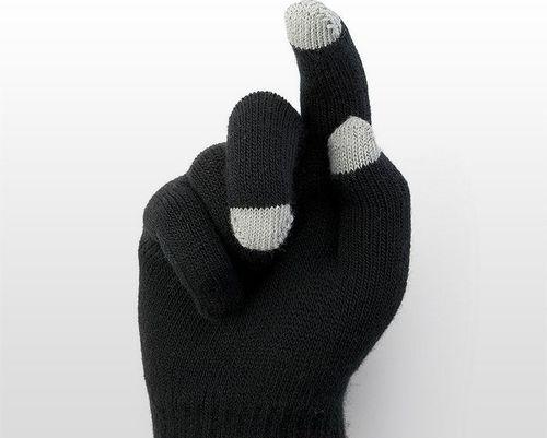 TERMIO Rękawiczki do smartfona KLIKS (czarne)