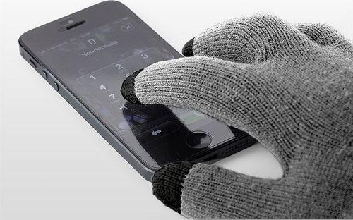 TERMIO Rękawiczki do smartfona 3INGER (szare)