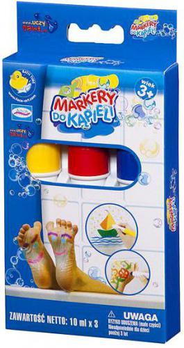 Face Art AQUA STUDIO Markery do kąpieli 3 kol. - 34123