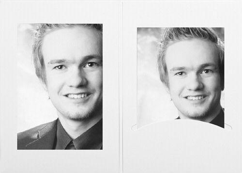 Daiber Etui portretowe 10x15 białe 100szt. (11021)