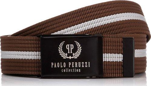 Paolo Peruzzi MĘSKI PASEK PARCIANY PAOLO PERUZZI PW-15-PP 125 cm