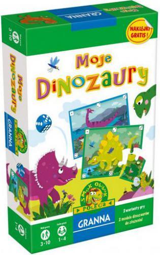 Granna GRANNA Gra Moje dinozaury - 00253