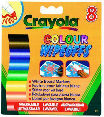 Crayola Markery do białej tablicy 8 szt. - 8223